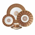 Bernardaud Eventail 5 Piece Place Setting