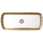Bernardaud Eventail Cake Platter Rectangular