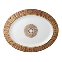 Bernardaud Eventail Oval Platter