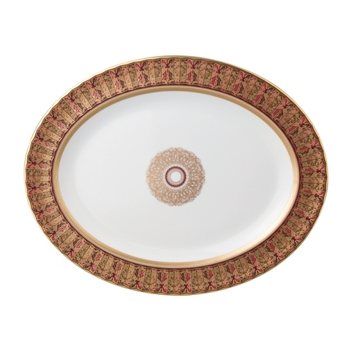 Bernardaud Eventail Oval Platter Small