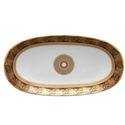 Bernardaud Eventail Relish Dish