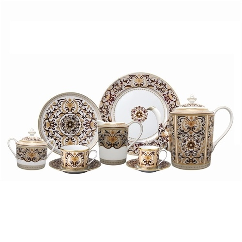 Bernardaud Boulle 5 Piece Place Setting