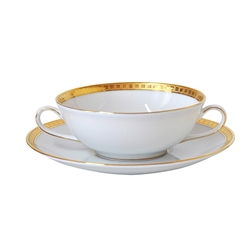 Bernardaud Athena Gold Cream Soup Cup Only