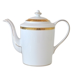 Bernardaud Athena Gold Coffee Pot