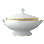 Bernardaud Athena Gold Covered Vegetable Bowl