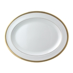 Bernardaud Athena Gold Oval Platter Medium