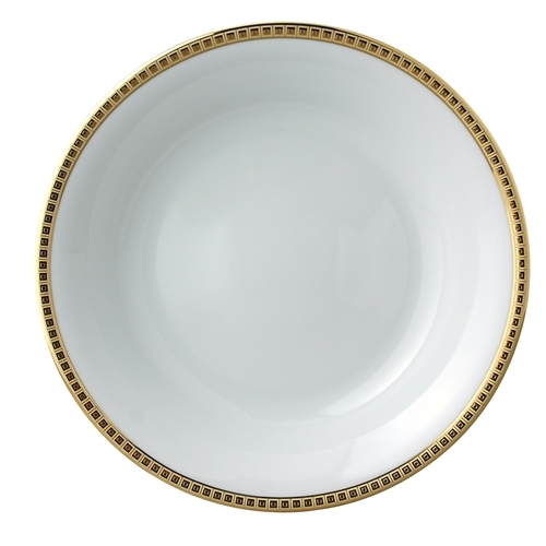 Bernardaud Athena Gold Salad Bowl