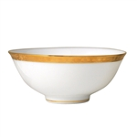 Bernardaud Athena Gold Rice Bowl