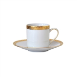 Bernardaud Athena Gold After Dinner Saucer Only