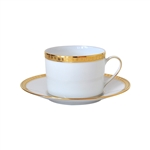 Bernardaud Athena Gold Tea Saucer Only