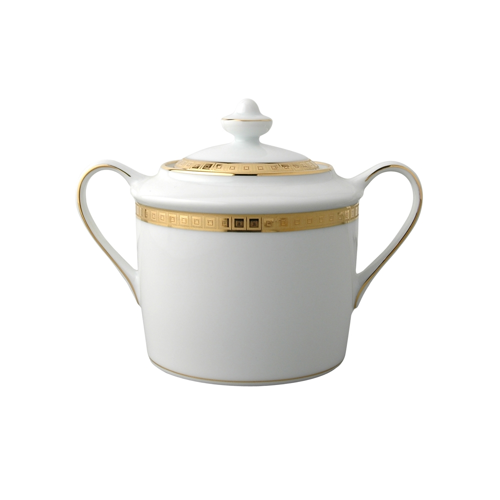 Bernardaud Athena Gold Sugar Bowl