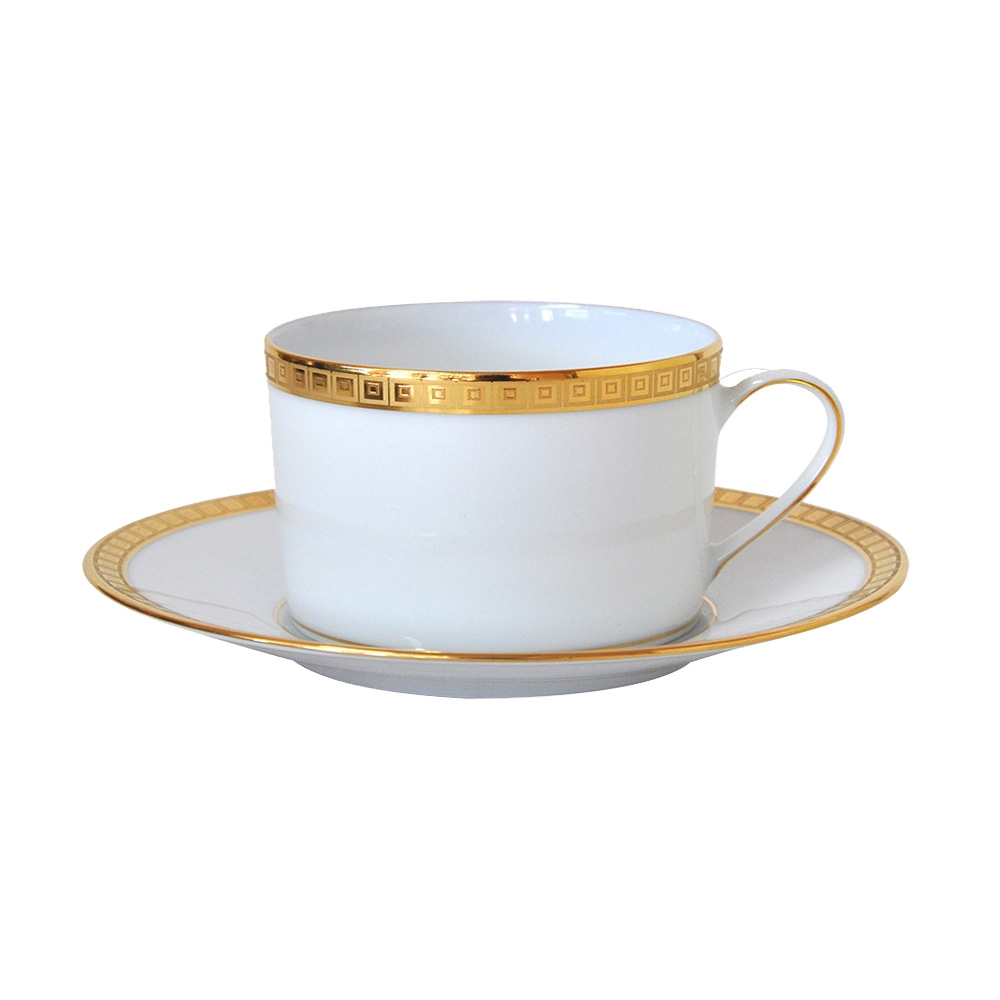 Bernardaud Athena Gold Breakfast Cup Only