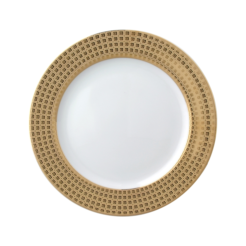 Bernardaud Athena Gold Accent Salad Plate