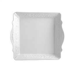 Bernardaud Louvre Square Handled Tray