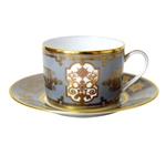 Bernardaud Aux Rois Flanelle After Dinner Saucer Only
