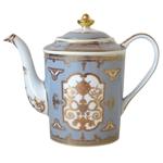 Bernardaud Aux Rois Flanelle Coffee Pot