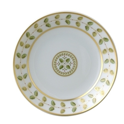 Bernardaud Constance Green Coupe Soup Plate