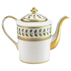 Bernardaud Constance Green Coffee Pot