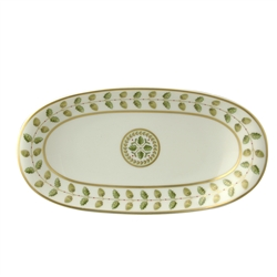 Bernardaud Constance Green Relish Dish