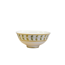 Bernardaud Constance Green Soup Bowl