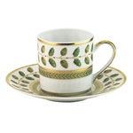 Bernardaud Constance Green After Dinner Saucer Only