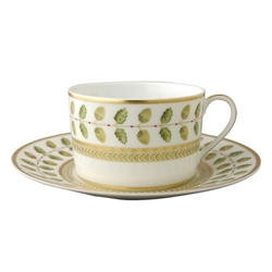 Bernardaud Constance Green Breakfast Saucer Only