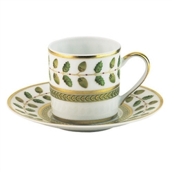 Bernardaud Constance Green After Dinner Cup Only