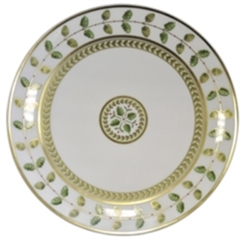 Bernardaud Constance Green Coupe Bread & Butter Plate