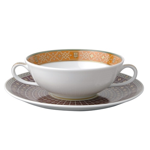 Bernardaud Grand Versailles Cream Soup Saucer Only