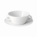 Bernardaud Ecume White Cream Soup Cup Only