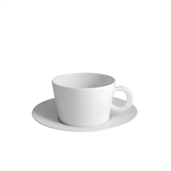 Bernardaud Ecume White Breakfast Cup Only