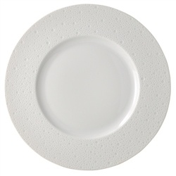 Bernardaud Ecume White Dinner Plate