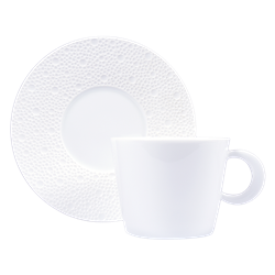 Bernardaud Ecume White Tea Cup Only