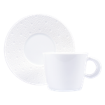Bernardaud Ecume White Tea Saucer Only
