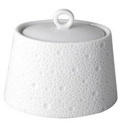 Bernardaud Ecume White Sugar Bowl