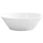 Bernardaud Ecume White Candy Dish