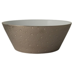 Bernardaud Ecume Platinum Salad Bowl