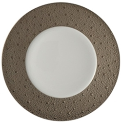 Bernardaud Ecume Platinum Dinner Plate