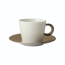 Bernardaud Ecume Platinum Tea Saucer Only