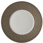 Bernardaud Ecume Platinum Five Piece Place Setting