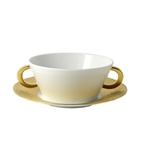Bernardaud Ecume Gold Cream Soup Cup Only