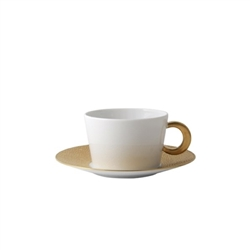 Bernardaud Ecume Gold Breakfast Cup Only