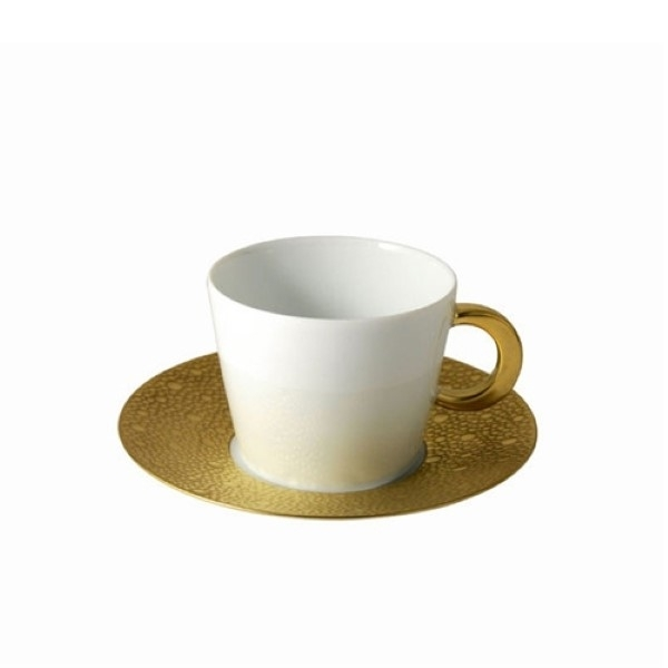 Bernardaud Ecume Gold Tea Cup Only