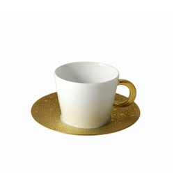 Bernardaud Ecume Gold Tea Saucer Only