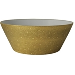 Bernardaud Ecume Gold Salad Bowl Large