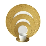 Bernardaud Ecume Gold Five Piece Place Setting