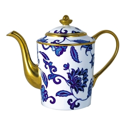 Bernardaud Prince Bleu Coffee Pot