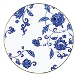 Bernardaud Prince Bleu Coupe Dinner Plate