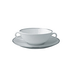 Bernardaud Cristal Cream Soup Saucer Only