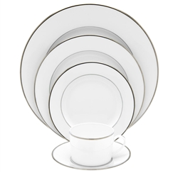 Bernardaud Cristal Five Piece Place Setting